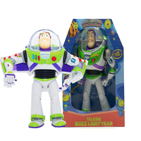 30cm Toy Story 3 Talking Buzz Lightyear PVC Action Figure Doll Toy Christmas Birthday Gift for Kids Children