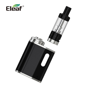 Image 4 - 원래 Eleaf iStick 피코 베이비 키트 내장 1050mAh 배터리 버튼 잠금 시스템 GS 공기 0.75ohm 헤드 전자 담배