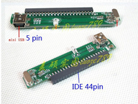 PC DIY IDE 44pin PATA To Mini Usb Adapter Card For 2 5 IDE Hard Drive