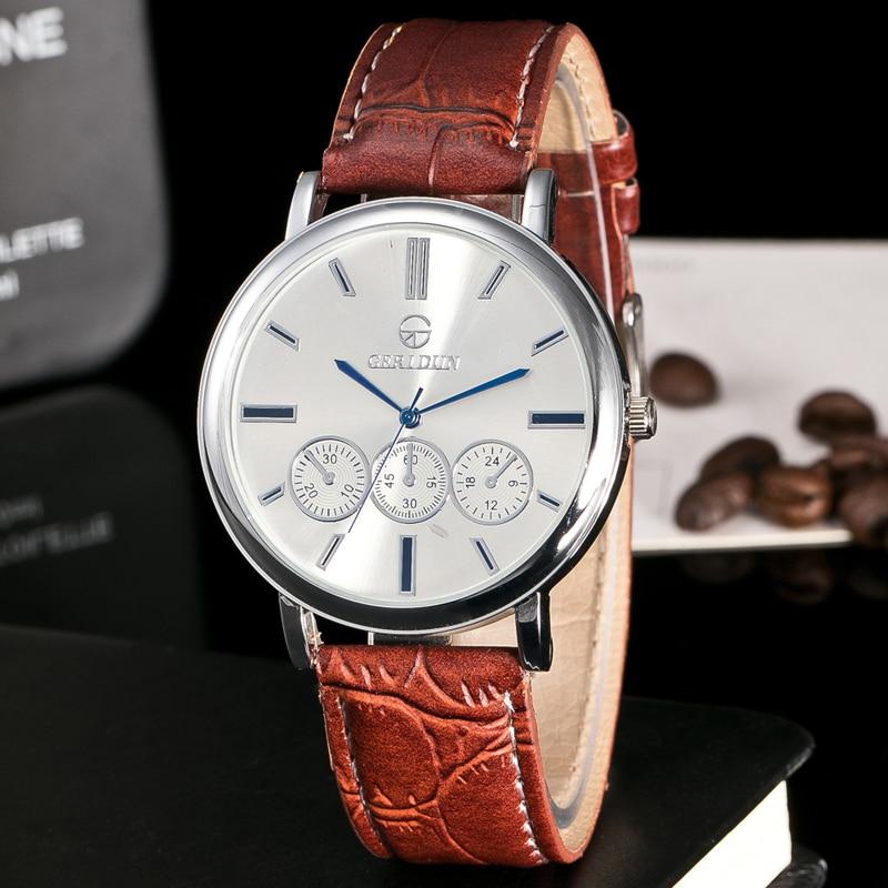 2017 GERIDUN Случайные Часы Мужчины - Мужские часы