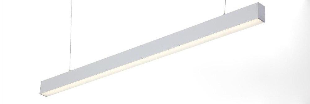 Livraison gratuite 1.2 m 1.5 m 30 w 40 w nouvelle qualité haute puissance linéaire led nouvelles lampes modernes suspendus led ligne pendentif lumière