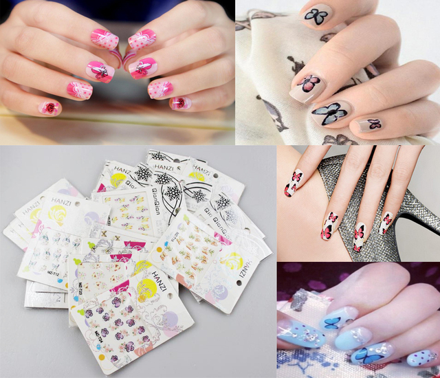 Aliexpresscom Buy Nail Art Beauty Sticker Joyeria Manicure French