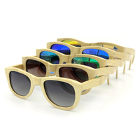Hot Sale Bamboo Wood Sunglasses Fashion Handmade Solid Good Wooden Sun Glasses Women Men High Quality
