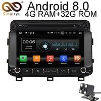 4GB RAM Car DVD For Kia Optima K5 2014 2015 Octa Core 1024*600 Android 8.0 Car Auto Radio Fit Kia K5 2014 2015 GPS Navigation