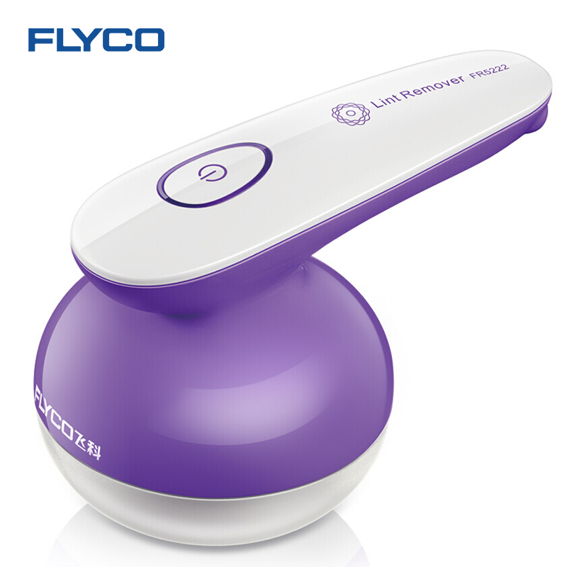 Flyco Clothing Remover Fuzz Off Purple Lint Remover Clothes Fabric Carpet Bobble Fluff Removing Shaver Lint Remover FR5222