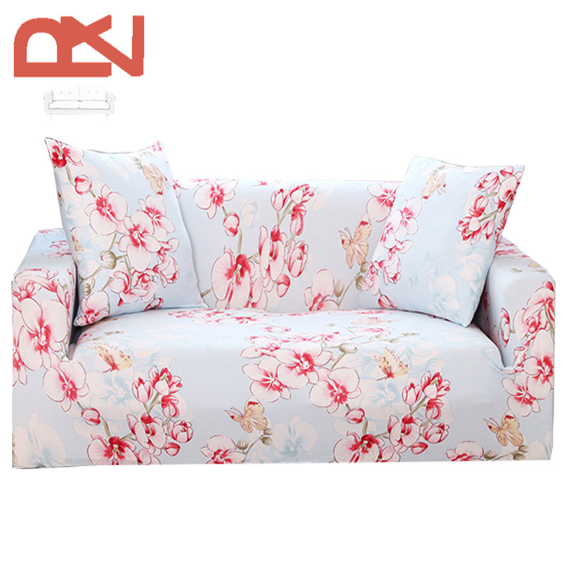 Sofa Covers Stretch European Plaid Colorful Furniture Universal Covers Protector  Sofa Soft Fabric Corner Couch Sofa