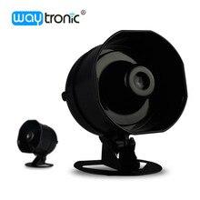10W Small Siren Alarm Horn Audio Speaker Outdoor Voice Broadcast Support micro SD Card Playback Speech Customization