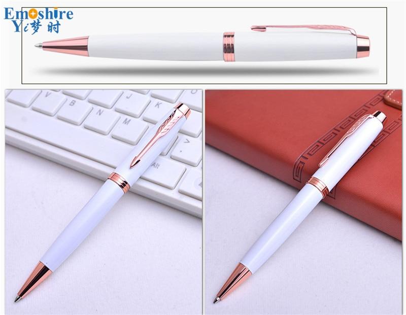 Emoshire Signature pen advertising gift wholesale Office stationery advertising pen custom pen Gift pen metal ballpoint pen (16)