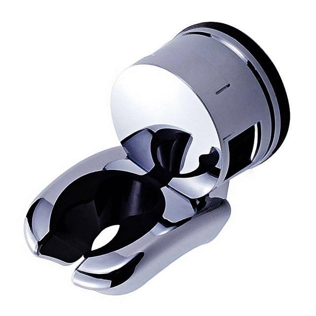 Cheen soporte de cabeza de ducha de baño ajustable ventosa montaje en pared ducha  soporte de 852fa0ddca2b