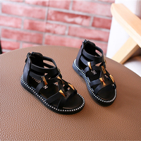 High Quality Nauhutu Baby Sandals Girls Toddler Summer Shoes Infant Gladiator Hollow Out Children Sandal White