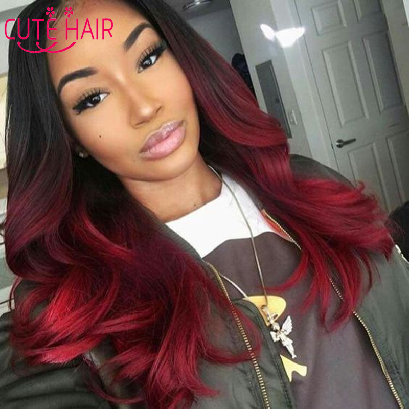 Image Gallery Ombre Red Hair Sew