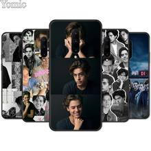 Cole Sprouse Black Case for Oneplus 7 7 Pro 6 6T 5T Silicone Phone Case for Oneplus 7 7Pro Soft Cover Shell