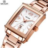 Nova venda quente megir senhoras relógios feminino relógio de pulso quartzo pulseira pulseira marca luxo rosa ouro relógio relogio feminino|Relógios femininos| |  -