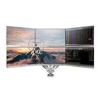 Шесть ЖК-дисплей Мониторы Экраны владельца, вращающийся Экран рабочего Гора Мониторы руки подходит для 10
