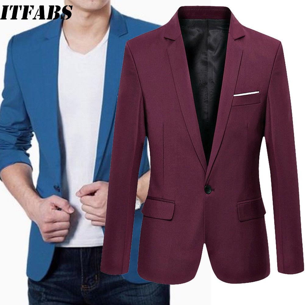 Spring Womens Slim Striped Suit Blazer One Button Tops Jacket Coat Outwear M-3XL