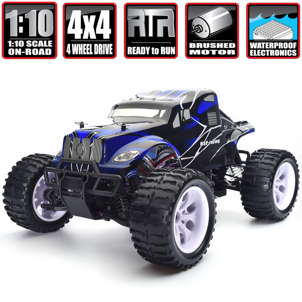 Monster Truck Rc Cars >> Hsp Rc Car 1 10 Scale Electric Power 4wd Off Road Monster Truck