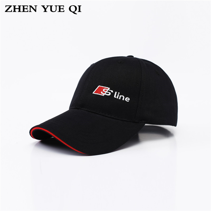 c4bf5134b2c 2017 Mens Spring Adjustable Cotton Fitted Baseball Caps Male Simple Black  Formal Snapback Dad Hat Fashion Breathable Truck Hats