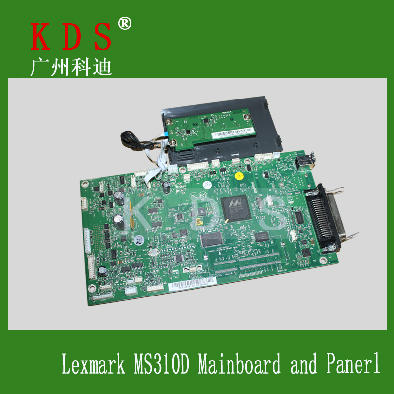 40X8026 Printer Machine For Lexmark MS310D Formatter Board Logic Board Mainboard and Panel Apart Parts chip for lexmark optra xs 658dme for lexmark x 658de for lexmark 0t65x replacement digital copier chips free shipping
