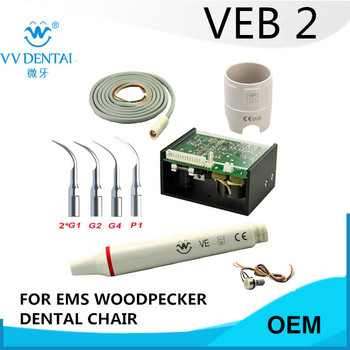 2 sets scaler main unit detachable dental handpiece for EMS, WOODPECKER,BAOLAI,SKL dental chair dental detachable tubing hose cable for led light ultrasonic scaler handpiece woodpecker ems