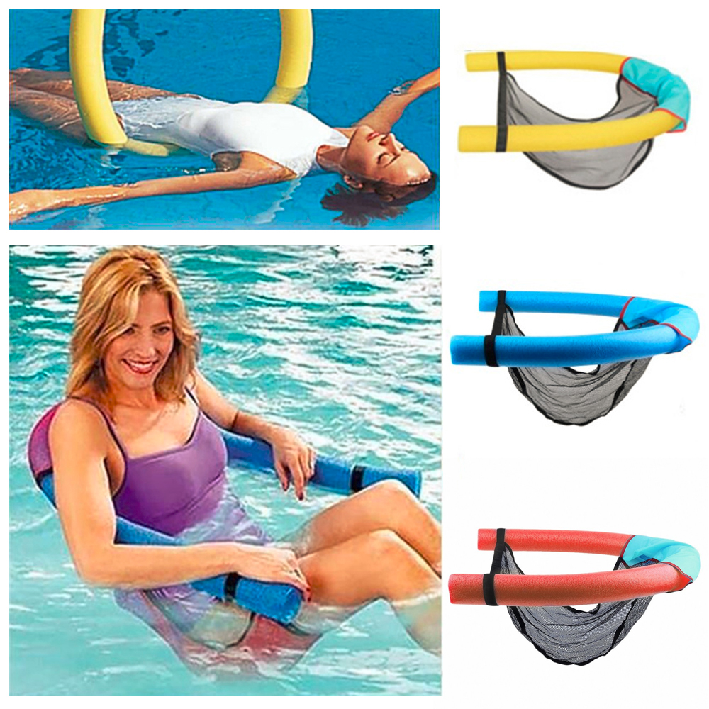水泳学習者スーパー浮力泡スティック6.5 * 150 cm / 7 * 130 cmフローティングチェアラフツスイミングプールシートベッド泳ぐエイズツール
