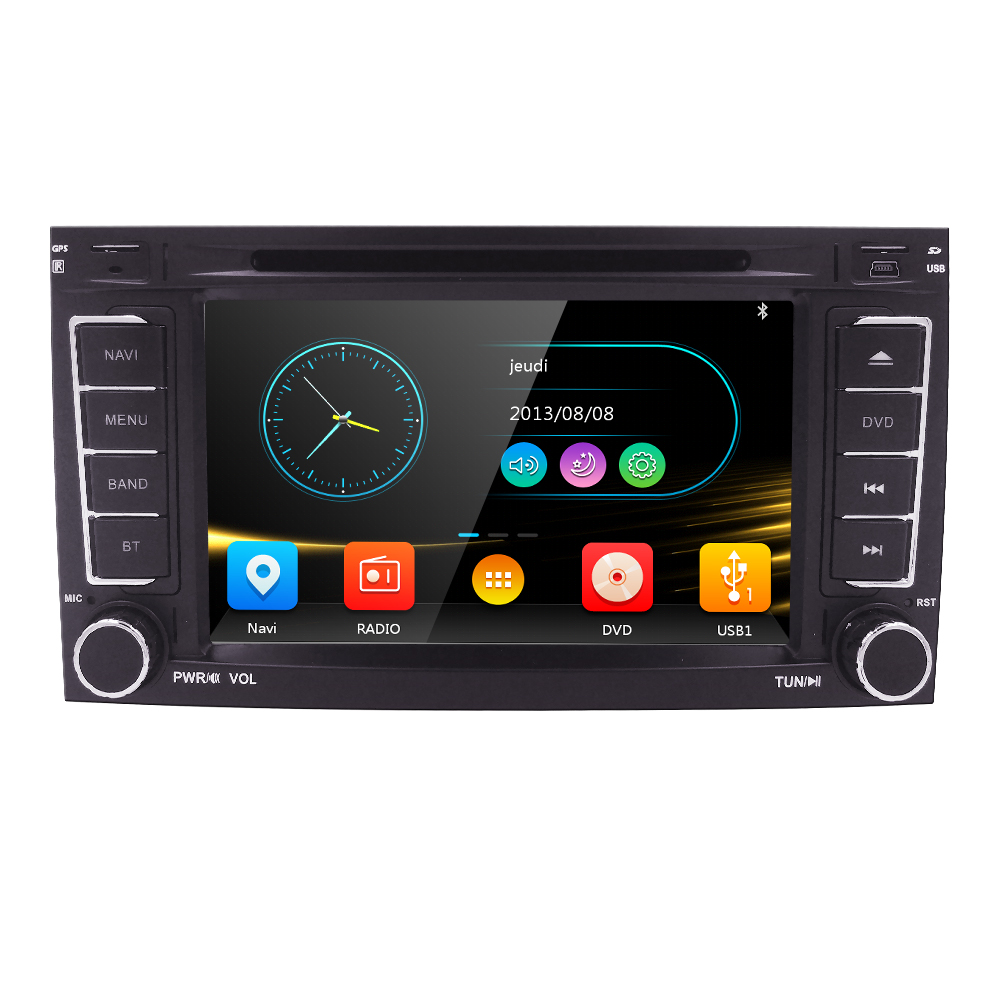 Car Monitor DVD Multimedia Player fit VW Volkswagen Touareg T5 Multivan car DVD player GPS navigation Radio Stereo TV SWC DVR BT