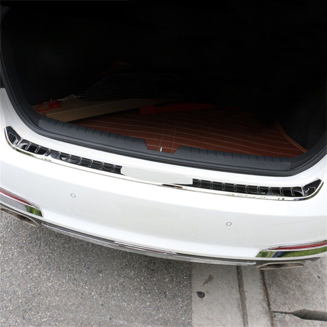 Us 79 99 Fit For Hyundai Sonata 2015 2018 Stainless Steel Rear Bumper Protector Cover Trim In Bumpers From Automobiles Motorcycles On