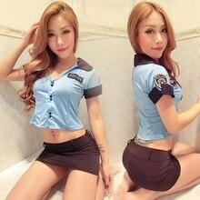 Policewomen Uniforms Lingerie Police Set Sexy Uniform Temptation