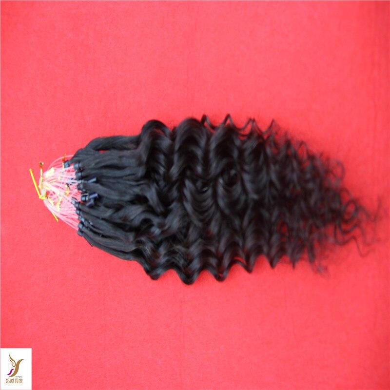 Malaysian Micro Ringbead Loop Hair Extensions 10 30 Virgin