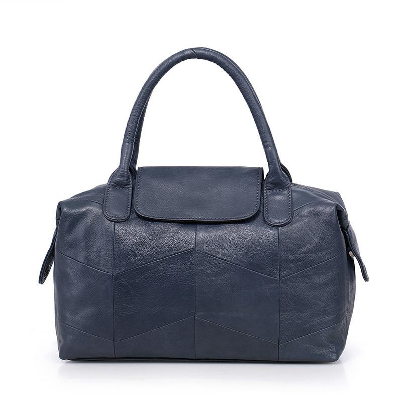 estilo simples bolsa tote senhora Tipo de Fecho : Zíper e Fecho