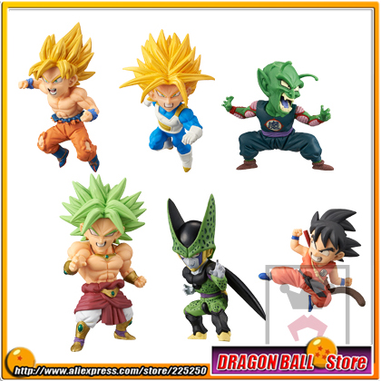 Dragon Ball Z Original BANPRESTO WCF BATTLE OF SAIYANS Vol.2 Figure - Full Set of 6 Pieces (Goku Broly Trunks Cell Piccolo) непромокаемые сумки для охоты и рыбалки киев