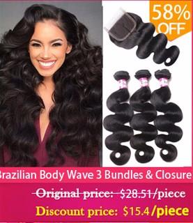 Brazilian Virgin Hair Body Wave 4 Bundles Queen Hair Products 7A Brazilian Wavy Human Hair Weave Bundle Remy Brazilian Body Wave (3)