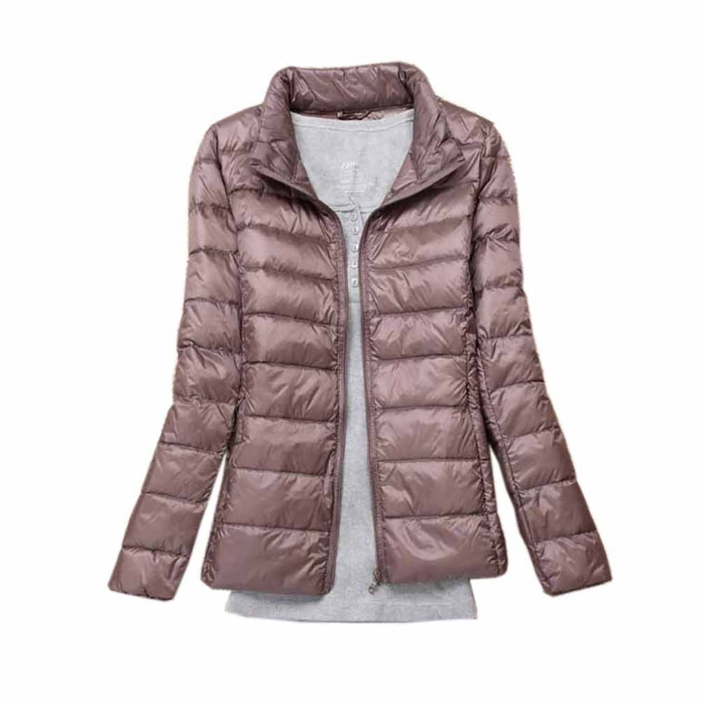 Winter Women   Down     Coats   Jackets Warm   Down   Parka Casual   Down   Jackets Women Slim Thin Female Windproof Autumn Outwear Plus Size