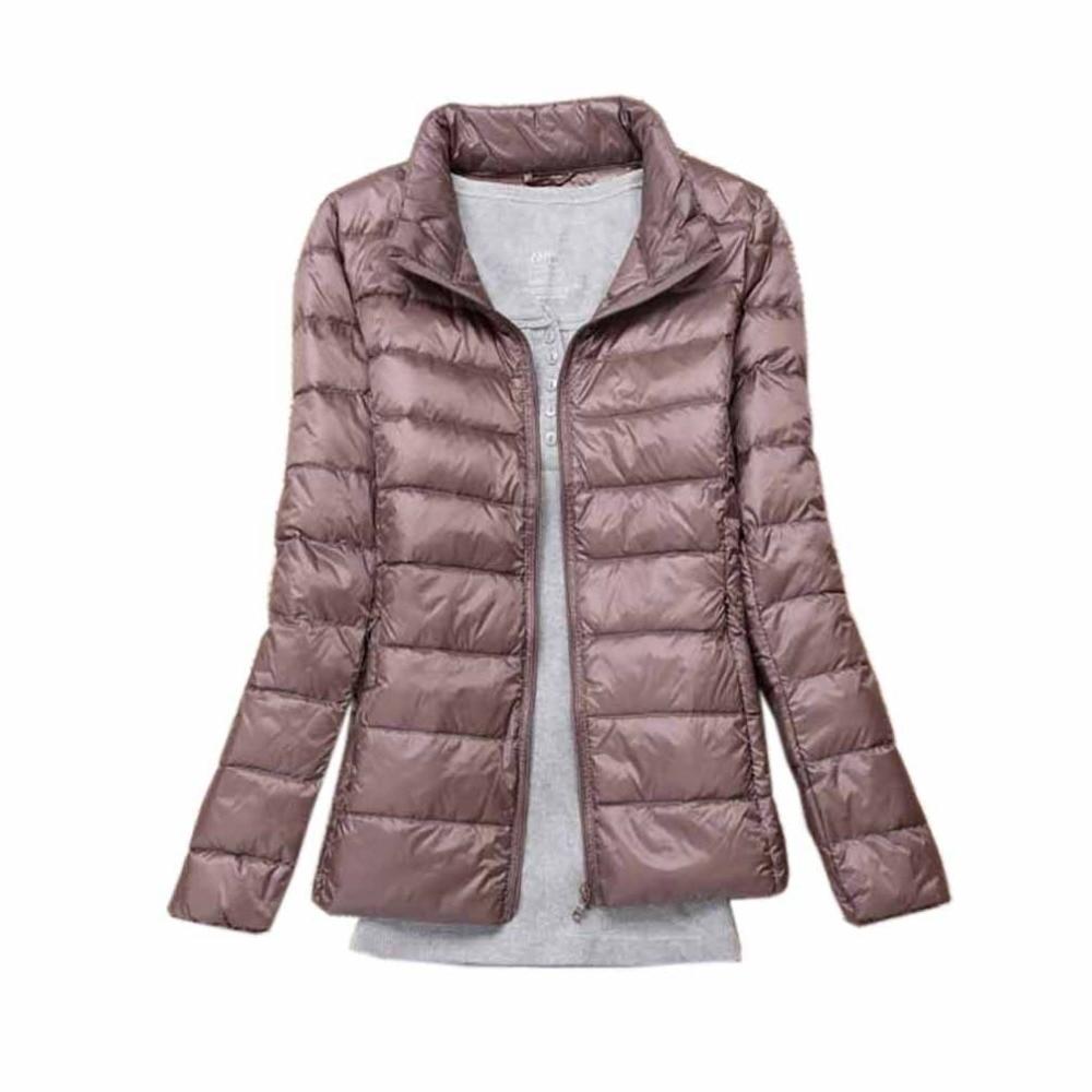 Winter Women   Down     Coats   Jackets Warm   Down   Parka Casual   Down   Jackets Women Slim Thin Female Windproof Autumn Outwear Plus Size