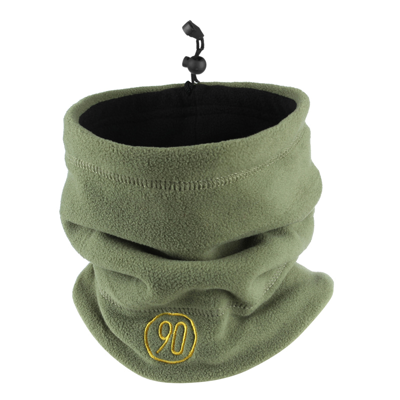 Men Magic Headband Winter Fleece Wool Neck Gaiter Half Face Mask Cold Weather Scarf Hood Snowboard Bicycle Bandana Headwear