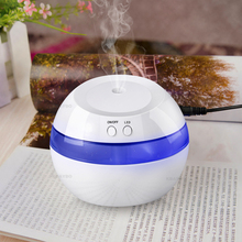130ML USB Ultrasonic Air Aroma Humidifier Color LED Lights Electric Aromatherapy Essential Oil Aroma Diffuse For Home Office