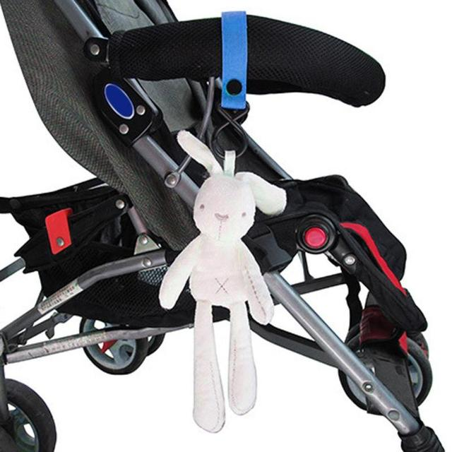 1pc Baby Stroller Hook Accessories Wheelchair Hook Pram Pushchair Bag Hanger Hanging Baby Car Carriage Hook 9 Color