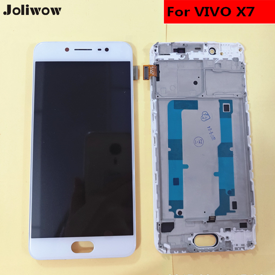 For VIVO X7 LCD Display+Touch Screen+Frame+Tools Digitizer Assembly Replacement Accessories For Phone 5.2For VIVO X7 LCD Display+Touch Screen+Frame+Tools Digitizer Assembly Replacement Accessories For Phone 5.2