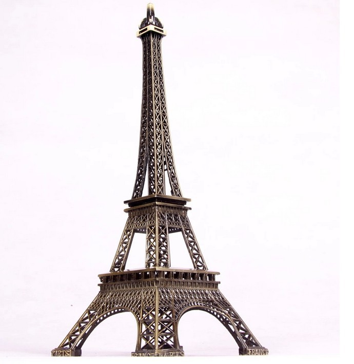 10cm Tower Eiffel Home Decoration Items Vintage Metallic Model Iron Creative Decorative Modern Artificial Photo Prop Crafts In Figurines Miniatures From