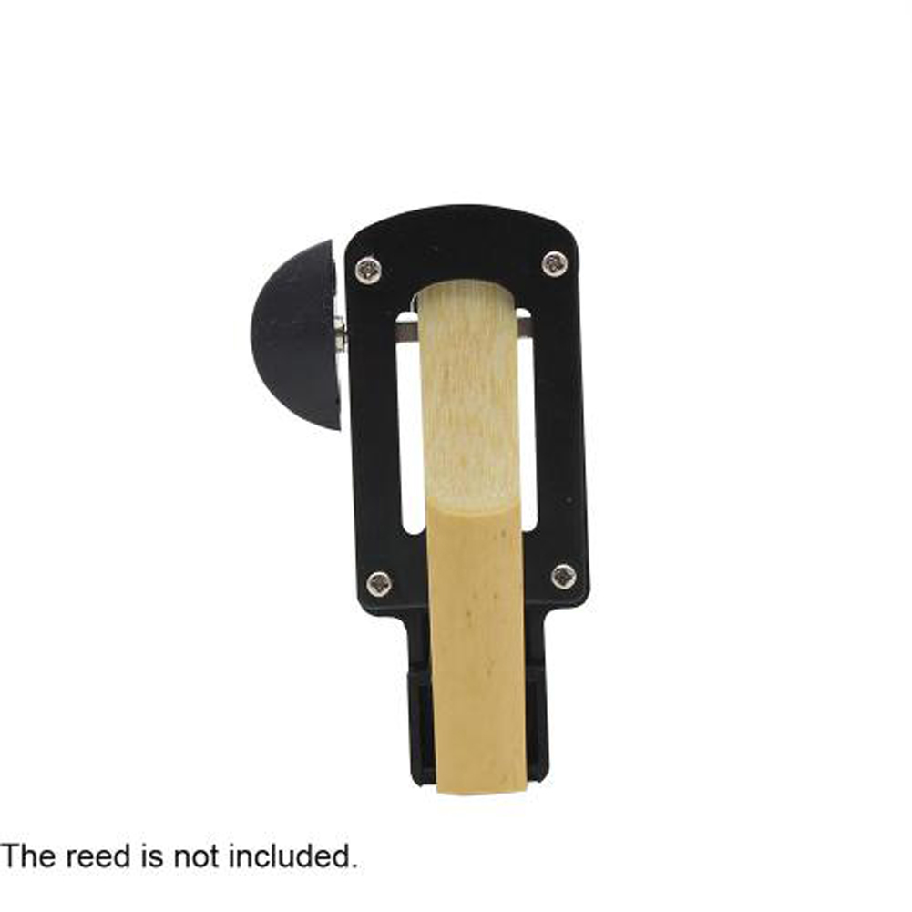 Clarinet Reed Trimmer para accesorios de clarinete Black ABS & Metal Reed Cutter profesional para accesorios de instrumentos musicales