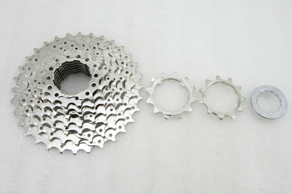 SHIMANO shimana 8 speed cassette HG31-8 mountain bike 11-32T hollow flywheel