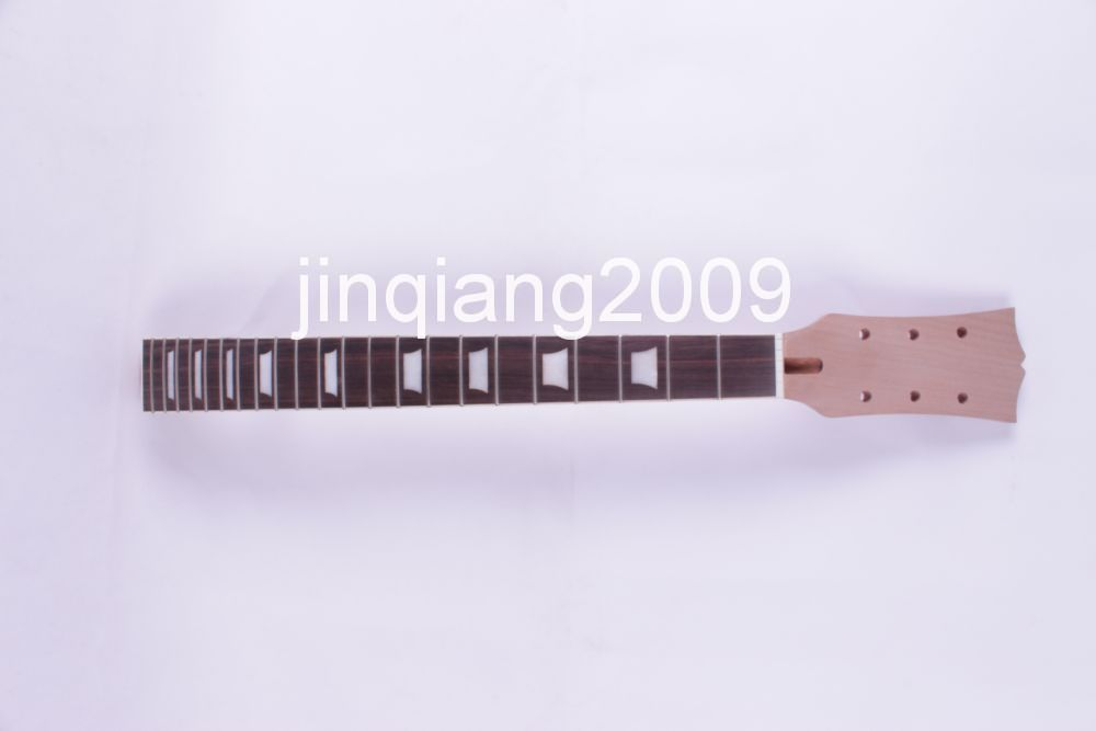 new bolt on Unfinished electric guitar neck Mahogany & RosewoodFINGERBOARD4# new