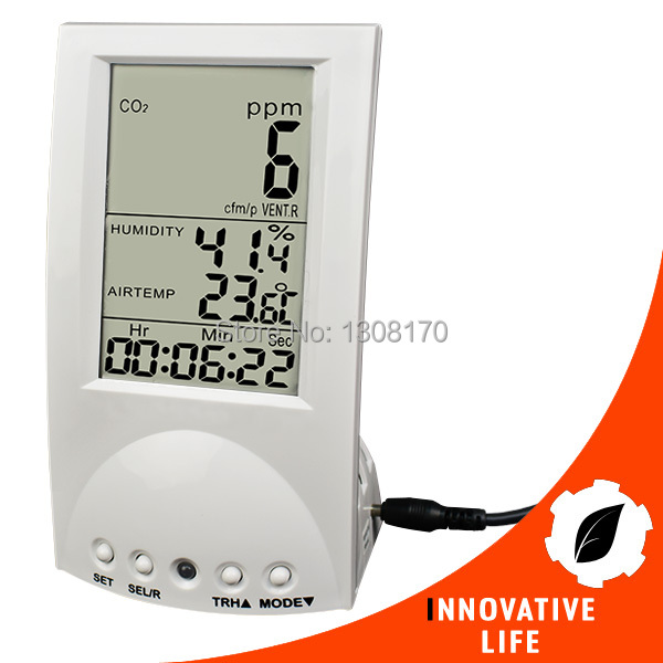 Digital Indoor Air Quality Carbon Dioxide Meter Temperature RH Humidity TWA STEL Display 99 points Made in Taiwan CO2 Monitor 9999ppm carbon dioxide co2 monitor detector air temperature humidity logger