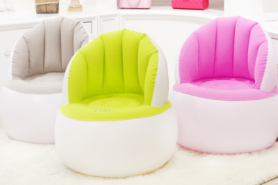 Kids inflatable Chair children baby soft Sofa living room bedroom indoor safe portable Parent Adult Sofa inflatable chair C125