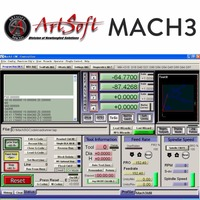 Engraving Machine Control CNC Software Mach3 English Version With Lience