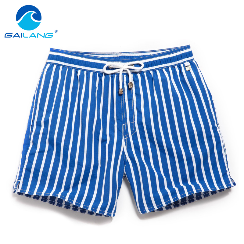 Gailang Brand Board Shorts Beach Boxer Trunks Swimwear Swimsuits 2016 Man Casual