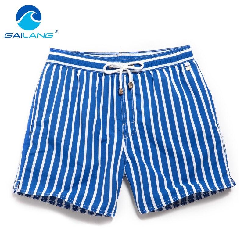 Gailang marca masculina calções de praia boxer troncos calções de banho maiôs 2016 homem calções casuais bermuda masculina de marca