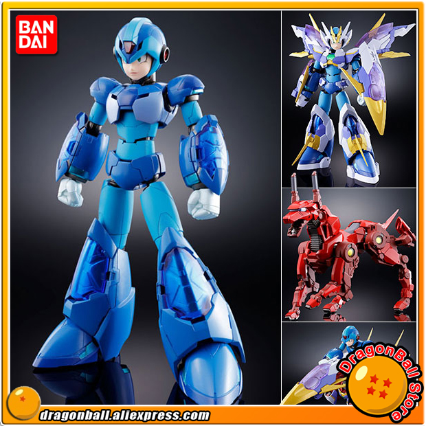 Anime Mega Man X Original BANDAI Tamashii Nations Chogokin Action Figure GIGA ARMOR X ROCKMAN