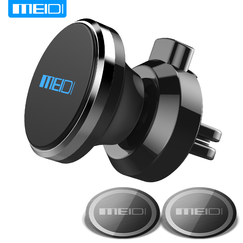 MEIDI Car Phone Holder soporte de ventilación para teléfono magnético titular para iPhoneX 8 más teléfono celular soporte soporte móvil
