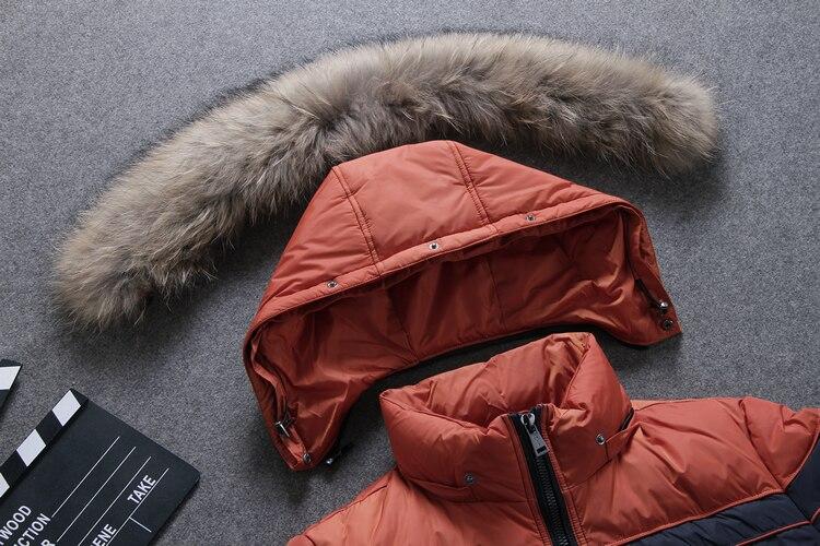 Winter donsjack mannen Europa en VS min 40 graden warme eend donsjack - Herenkleding - Foto 5
