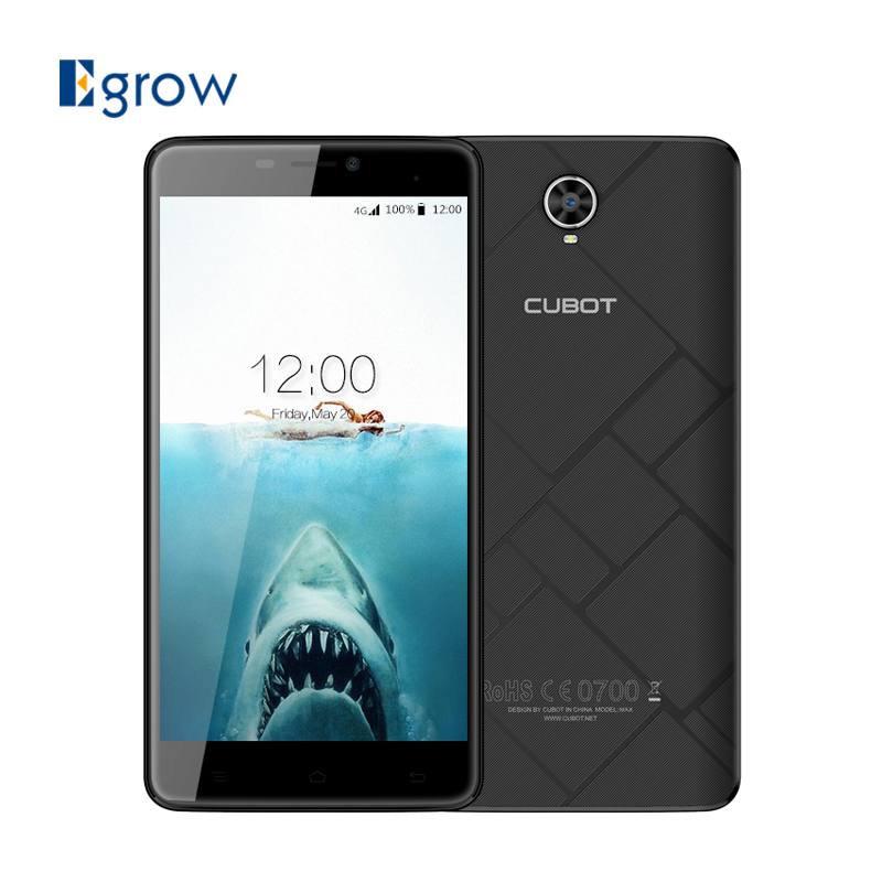 Cubot Max Android 6 0 MT6753A Octa Core Smartphone 3G RAM 32G ROM 6 0 Inch